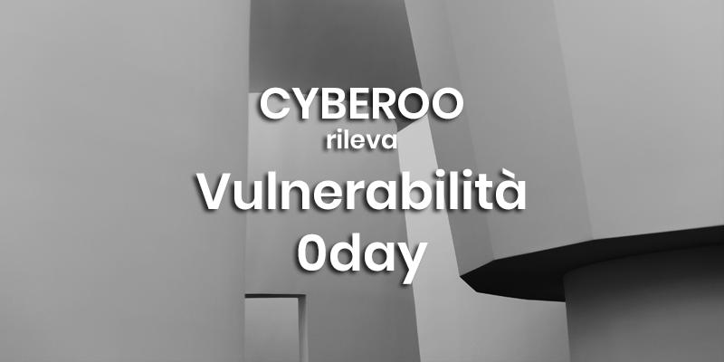 cyberoo vulnerabilità 0day xpare